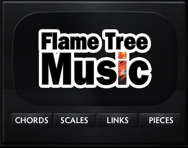 flame tree music, chord and scales finder