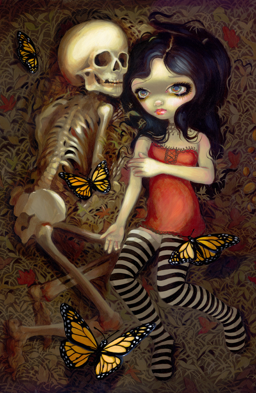 gothic art, I'm almost with you