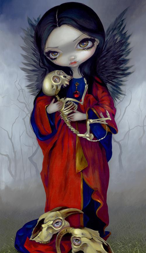 I vampiri angelo della morte, gothic art