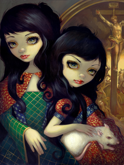 I vampiri la sorelle, gothic art
