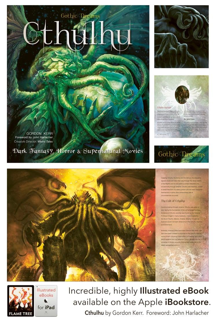 gothic dreams, cthulhu, gothic art