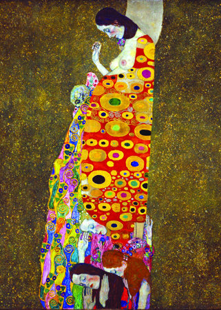 Masterpieces of art, Gustav Klimt, Hope II