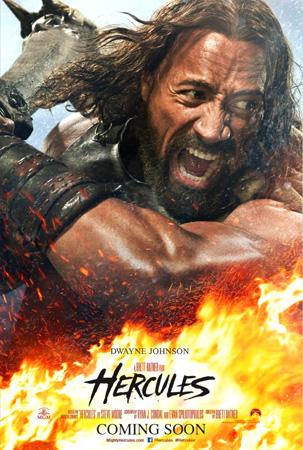 hercules movie poster, dwayne johnson, hercules, gothic