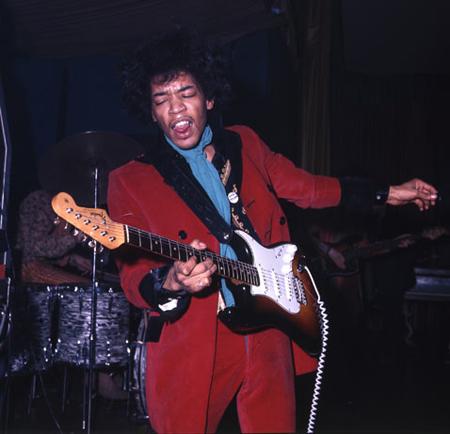 Jimmy hendrix, Guitar Hero