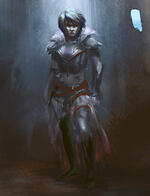 warrior woman, how to art,