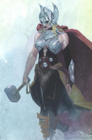 gothic art, thor, marvel comics