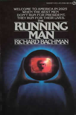 gothic fantasy art, the running man