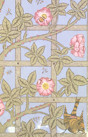 art of fine gifts, morris wallpaper, trellis