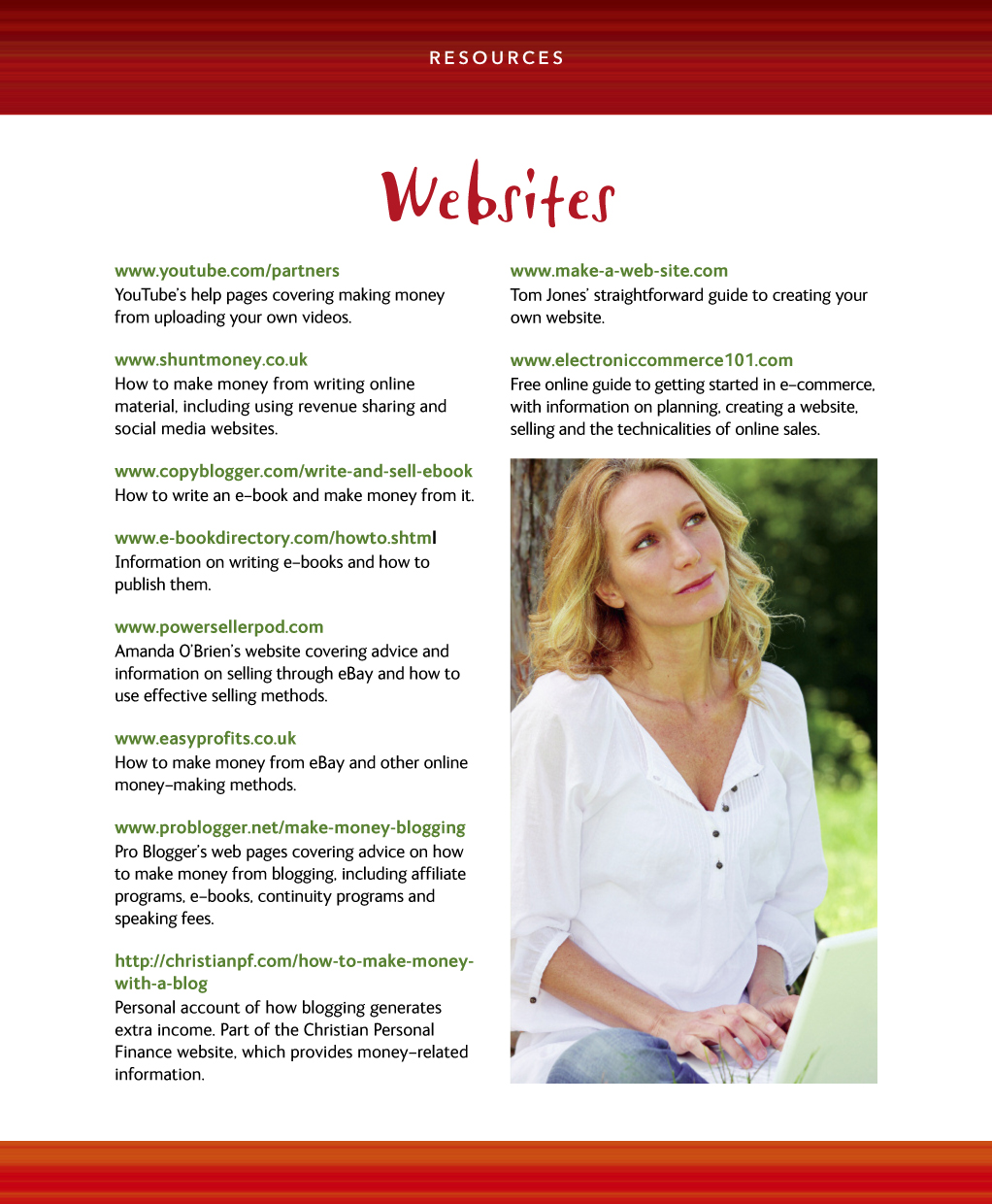 How to Make Money from Your Website. Expert Advice Made Easy inside page 04