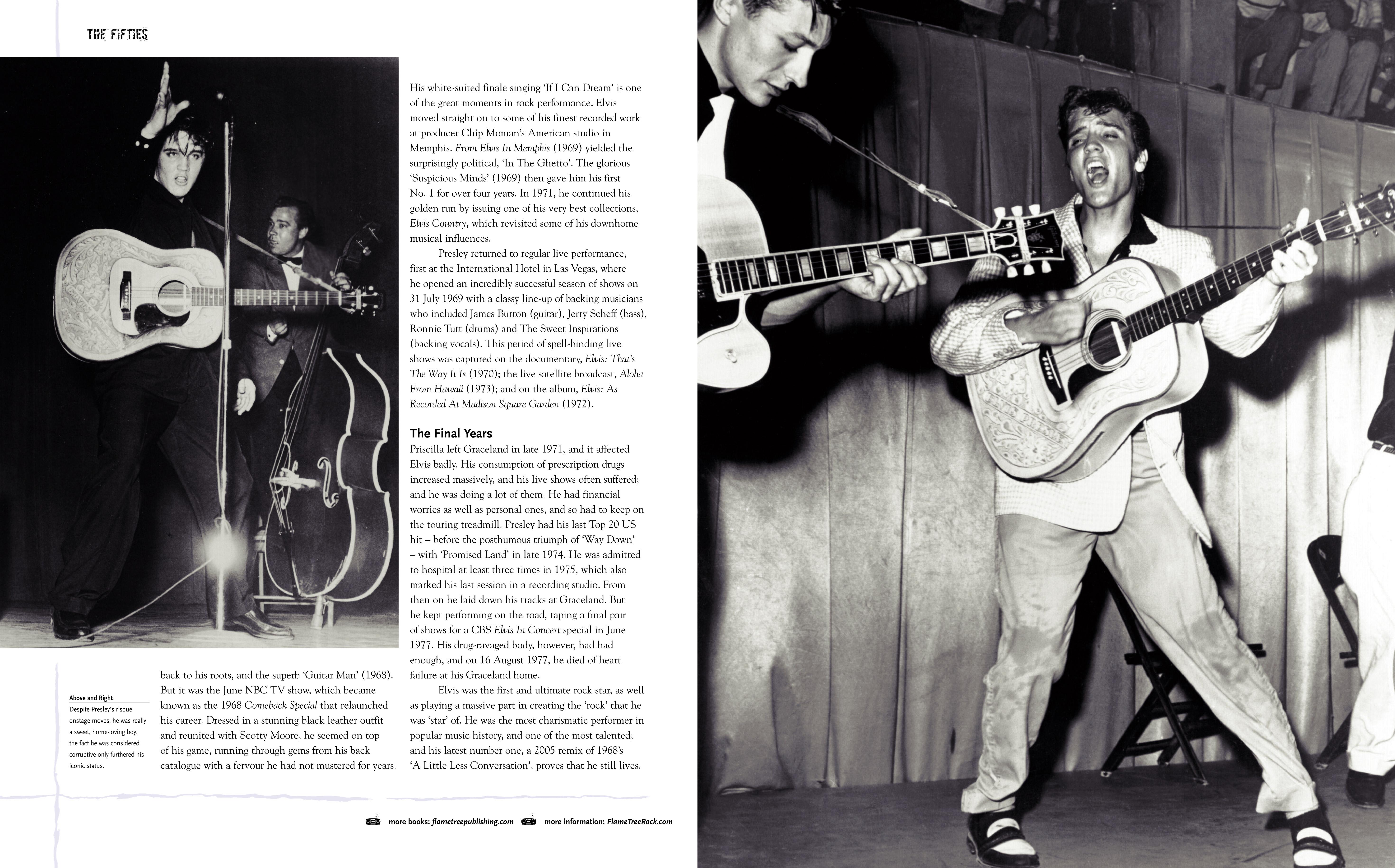 Classic Rock Bands, Elvis Presley