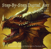Dragon Art, Digital Art, Step-by-Step