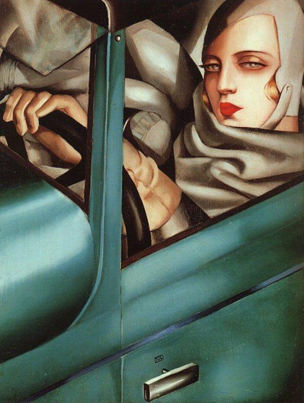 Art Deco Artists: Tamara de Lempicka
