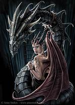 anne stokes, fantasy art