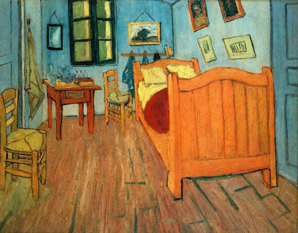 Van Gogh The Bedroom resized 600
