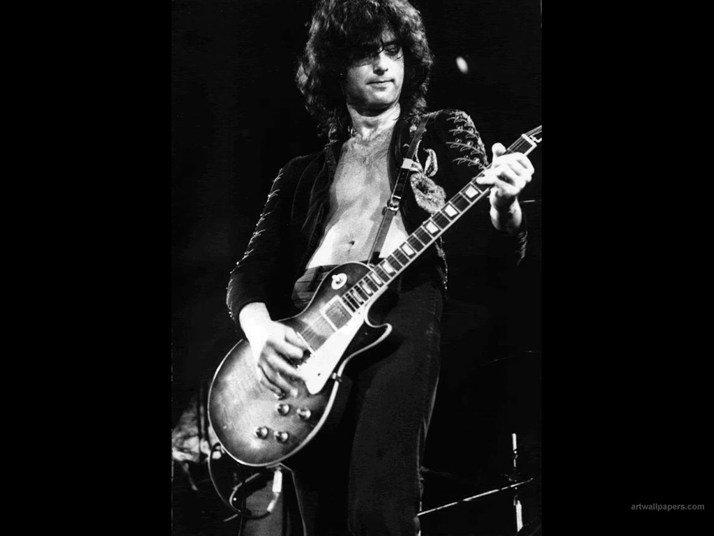 jimmy page, guitar riffs