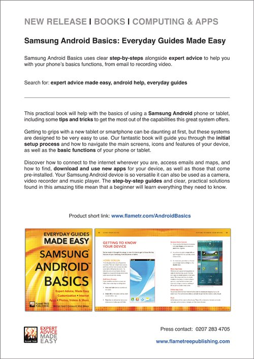 NEW Press Release   Samsung Android Basics