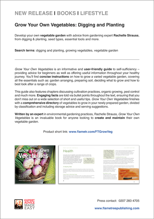 Grow Your Own Veg   Press Release