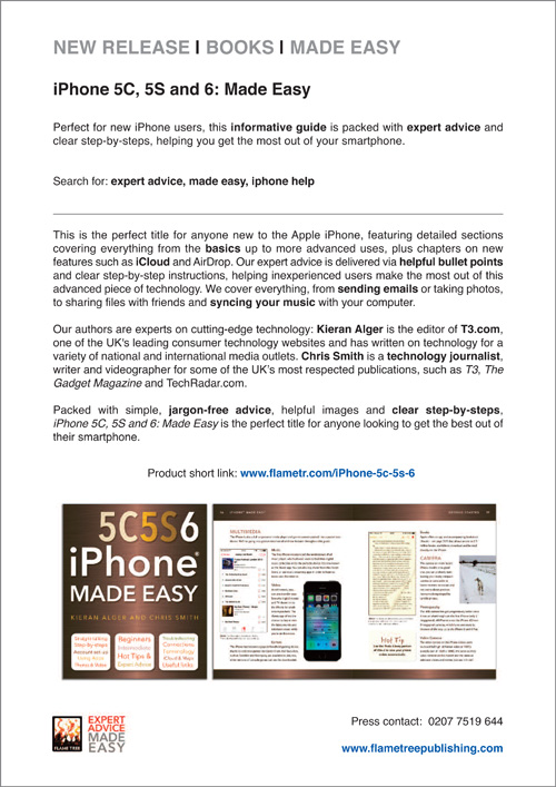 iphone 5   6 Press Release
