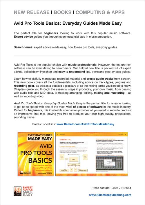 Avid Pro Tools   Press Release