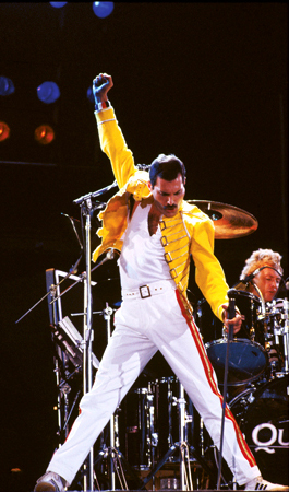 rock icons, freddie mercury,