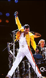 rock icons, freddie mercury,
