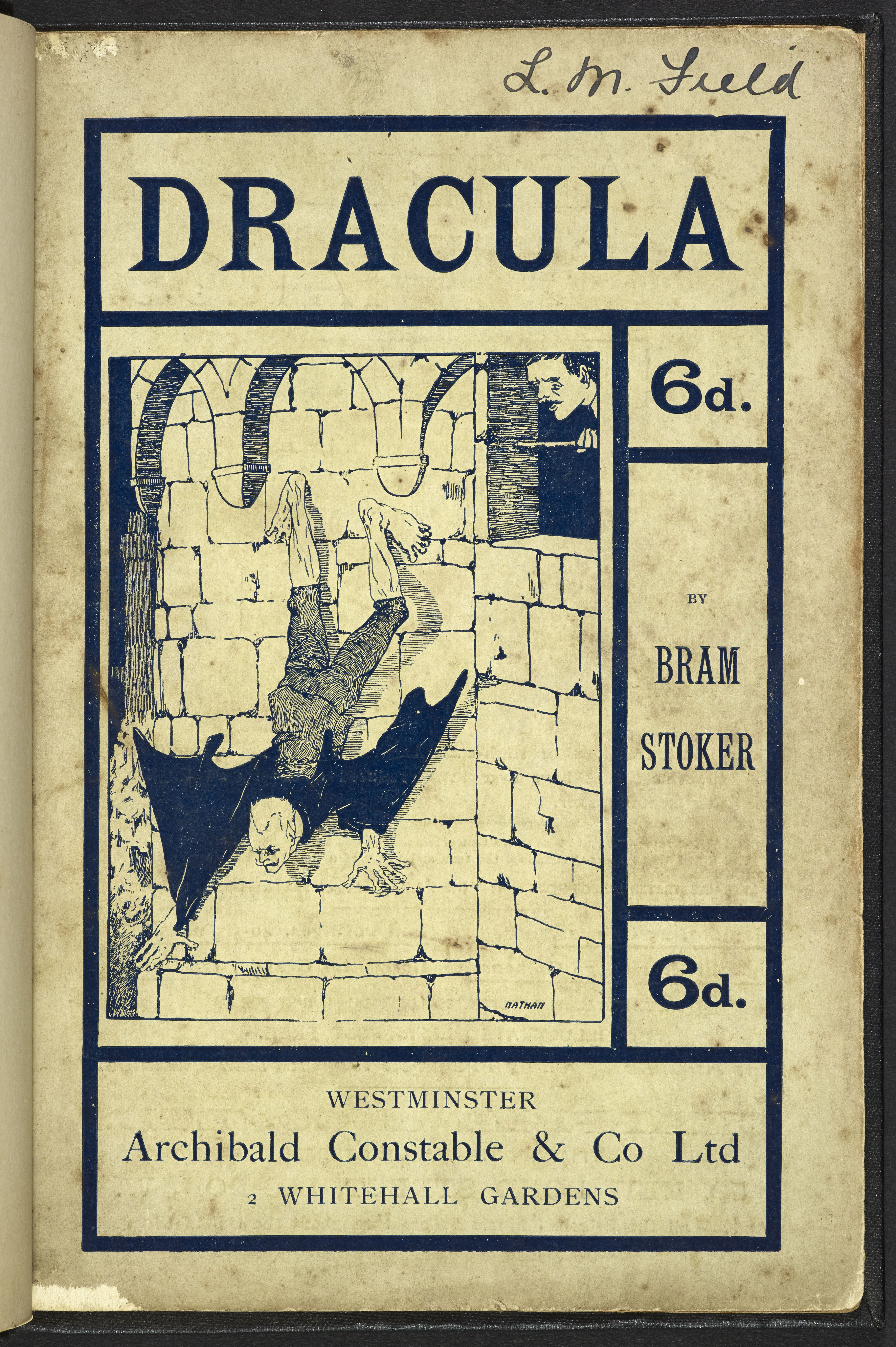 Dracula first image, bram stoker