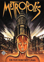 movie posters, science fiction, metropolis
