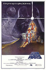 star wars episode 4, star wars poster, fantasy art, science fiction movies,