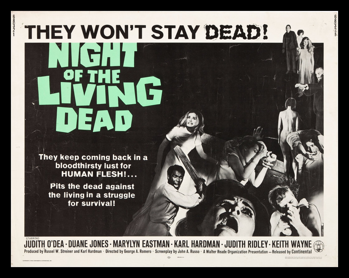 zombie pictures, night of the living dead
