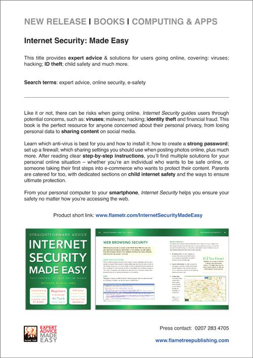 Internet Security Press Release