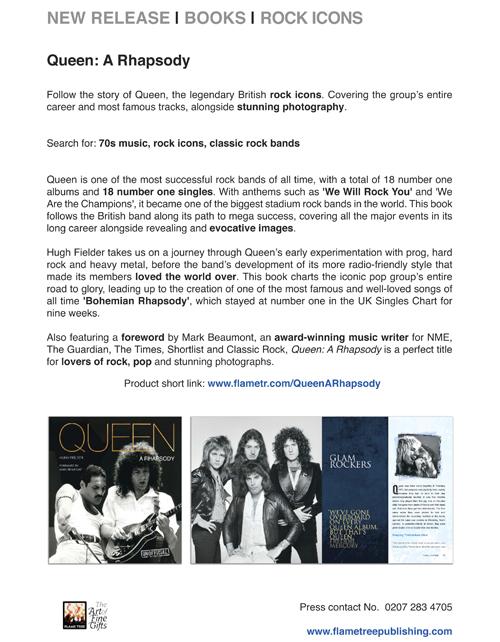 Queen   Press Release