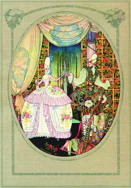 kay nielsen, art deco fairytales, flame tree calendar,