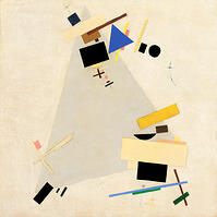malevich, dynamic suprematism, tate museum london, art calendar,