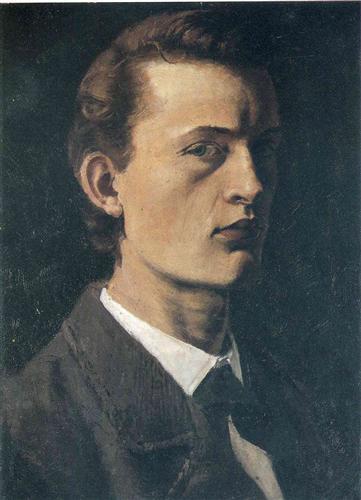Munch self-portrait, Masterpieces of Art