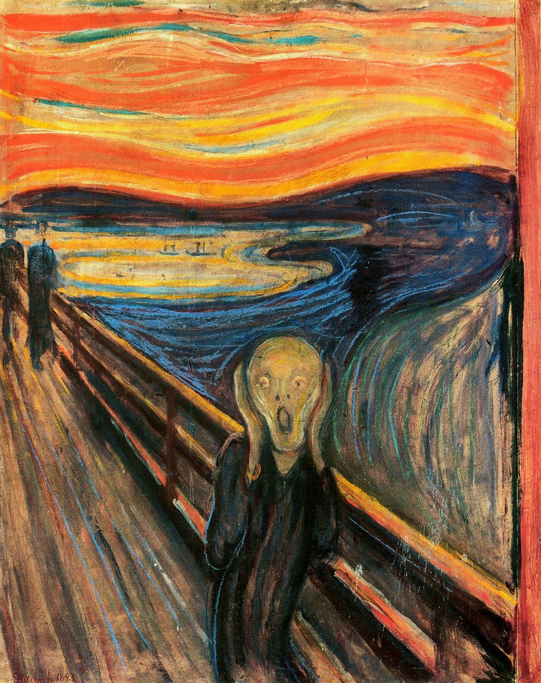 The Scream, Masterpieces of Art