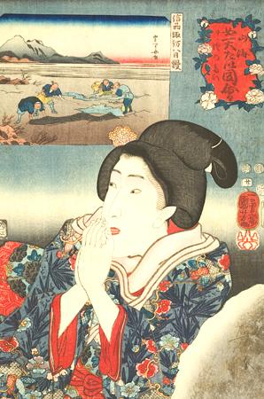 japanese woodblocks, ukiyo-e, the floating world, art of fine gifts,
