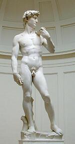 michelangelo's david,  masterpeices of art,