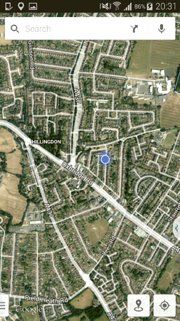 satellite view maps, google maps, samsung android, expert advice,