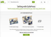 Cafe Press, Selling online