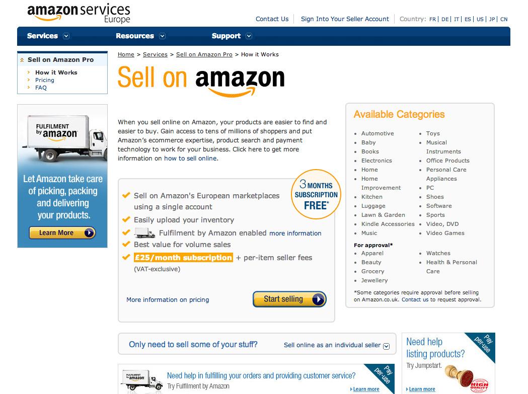 Amazon reseller