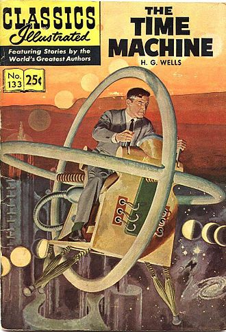 The Time Machine Classics Illustrated 133