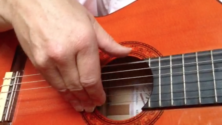 play guitar, right hand, jake jackson