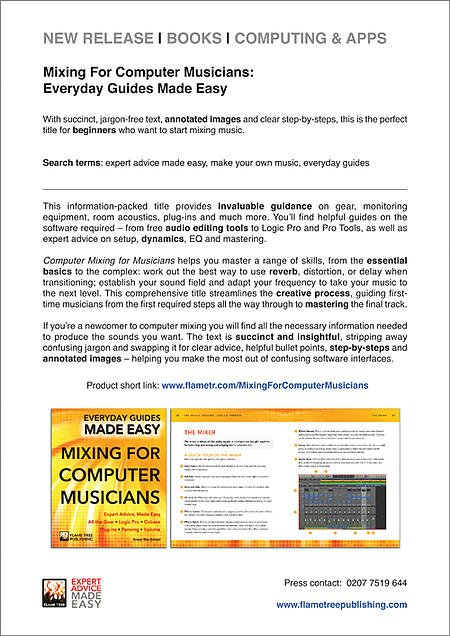Computer Music Mixing   Press Release