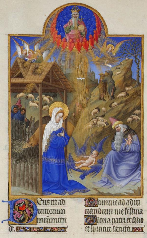 art calendars, illuminated manuscript