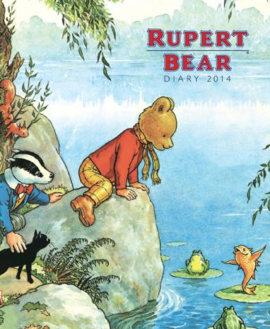 Art calendars, photoshop, Rupert Bear
