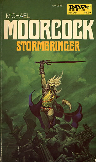 dragon art, michael moorcock cover