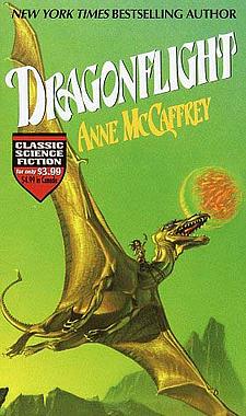 dragon art, anne mccaffrey cover