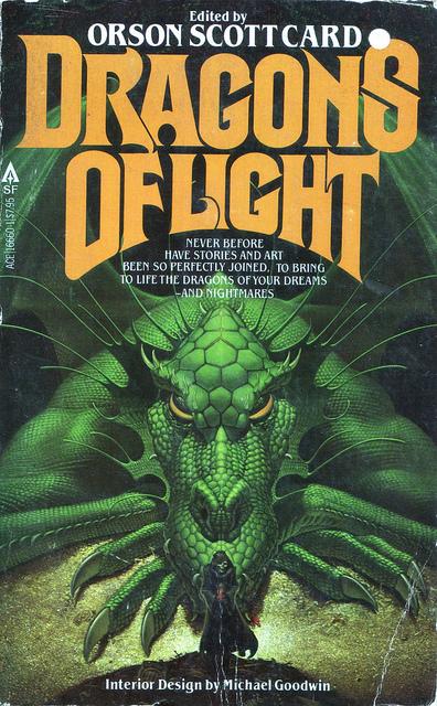 dragon art, orson scottcard cover