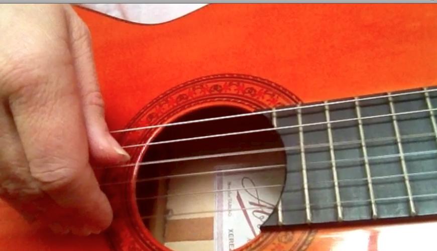 Guitar technique, play guitar,