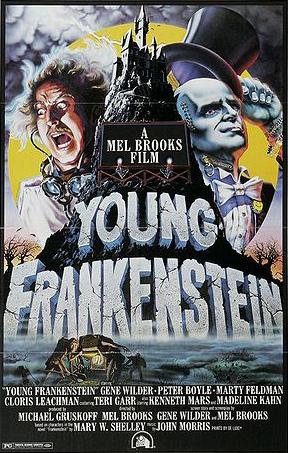 creepy stories, young frankenstein